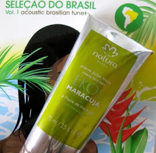 Crème Pulpes Mains Ekos Maracuja - Natura Brasil