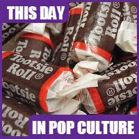 The Tootsie Roll was invented on February 23, 1896,