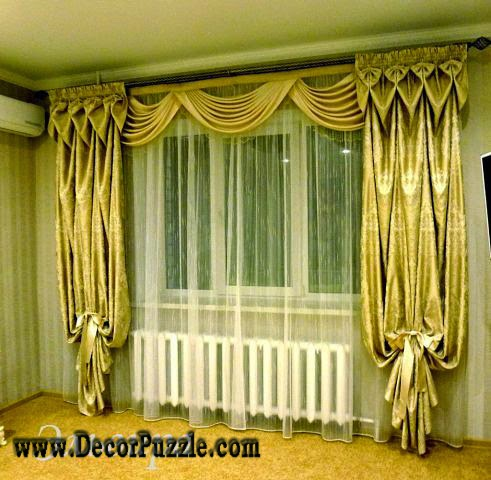 The best curtain styles and designs ideas 2017 for Latest window designs for house