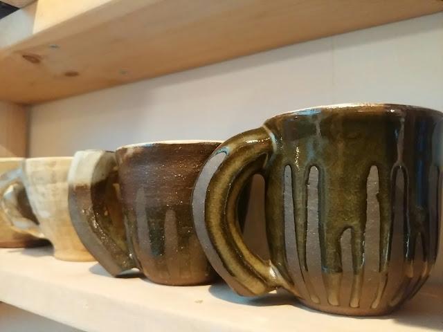 記念に頂いた小林氏のマグカップ