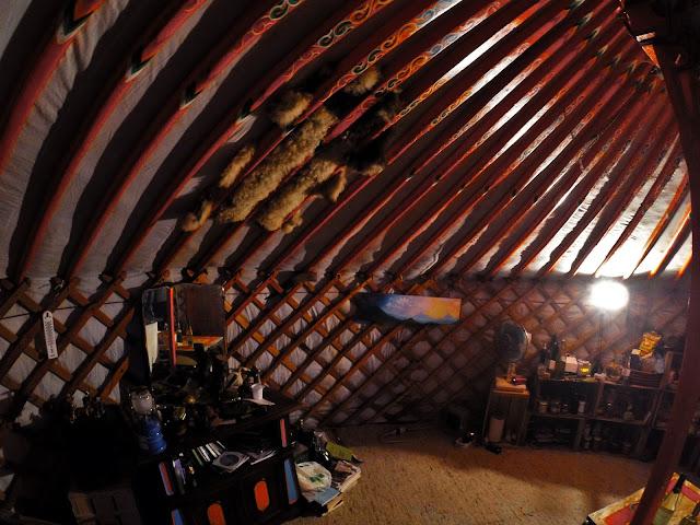 vivere in una yurta