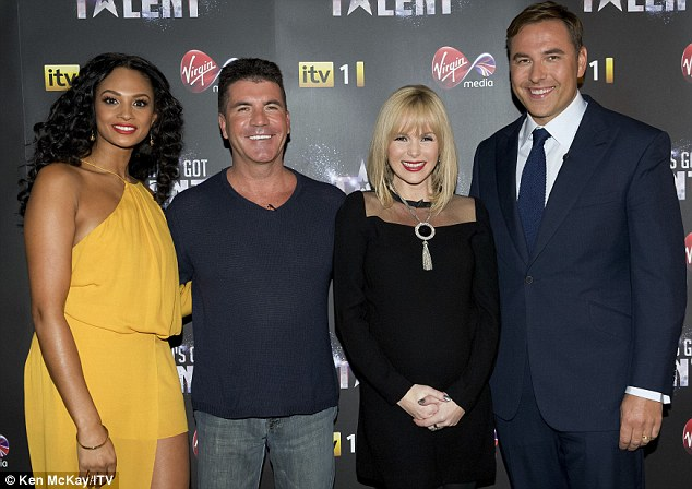 Famous And Celebrities She Ll Do Better Than Kelly She S Got A Brain Amanda Holden S Dig At Miss Brook As She Shows Support For New Bgt Judge Alesha Dixon