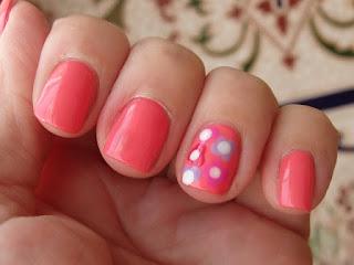 manicura rosa chillon