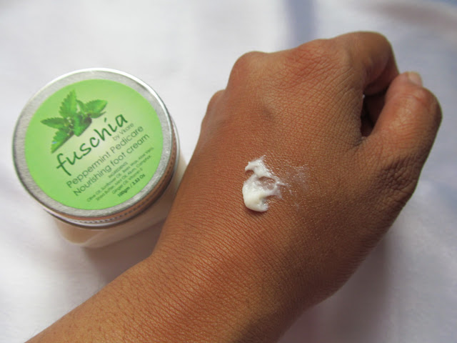 Fuschia Peppermint Pedicare Nourishing Foot Cream Review