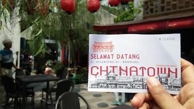 wisata selfie di chinatown bandung