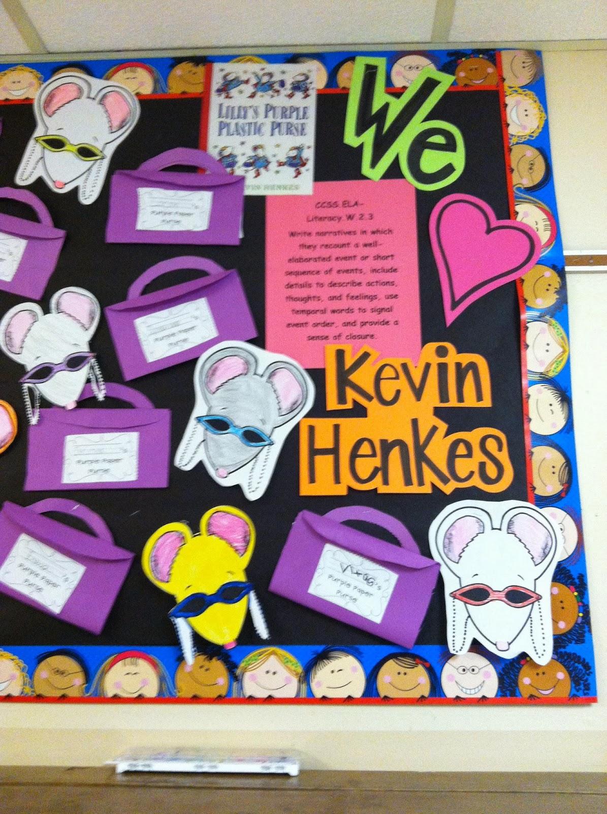 Tales Of A Tiny Teacher Kevin Henkes Author Study