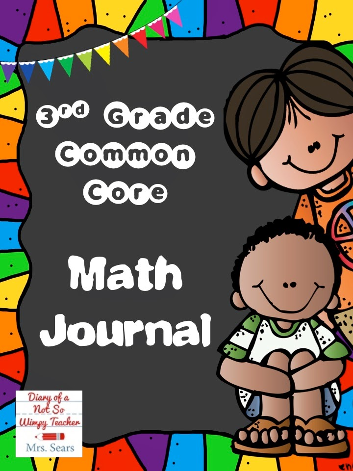 Diary Of A Not So Wimpy Teacher Math Journals Making Them Think