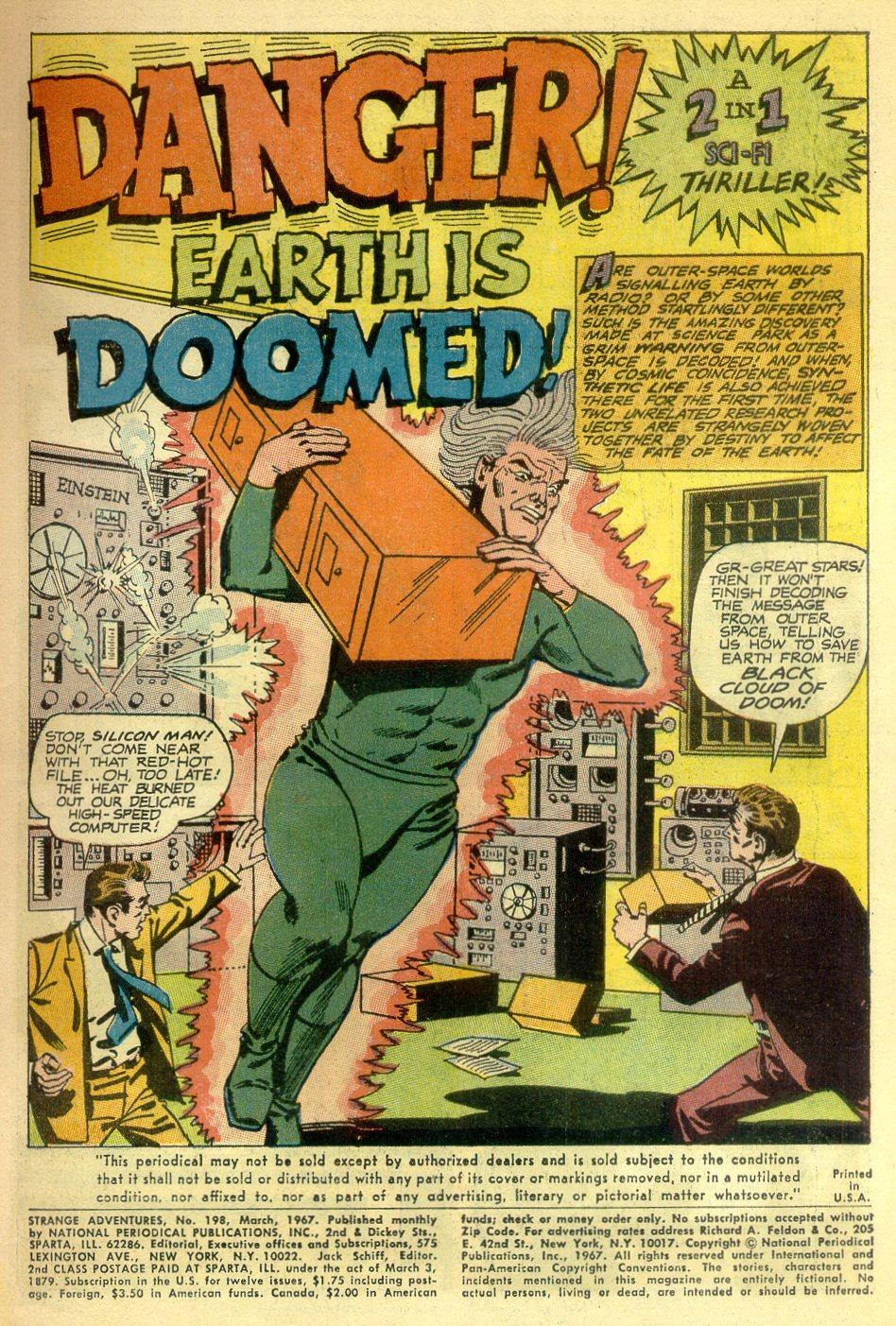 Strange Adventures (1950) issue 198 - Page 3