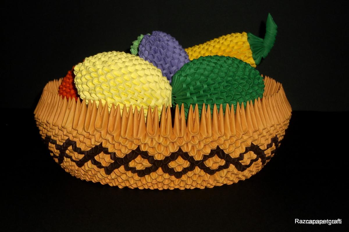 I Hope You Liked My 3D Origami Fruit Basket