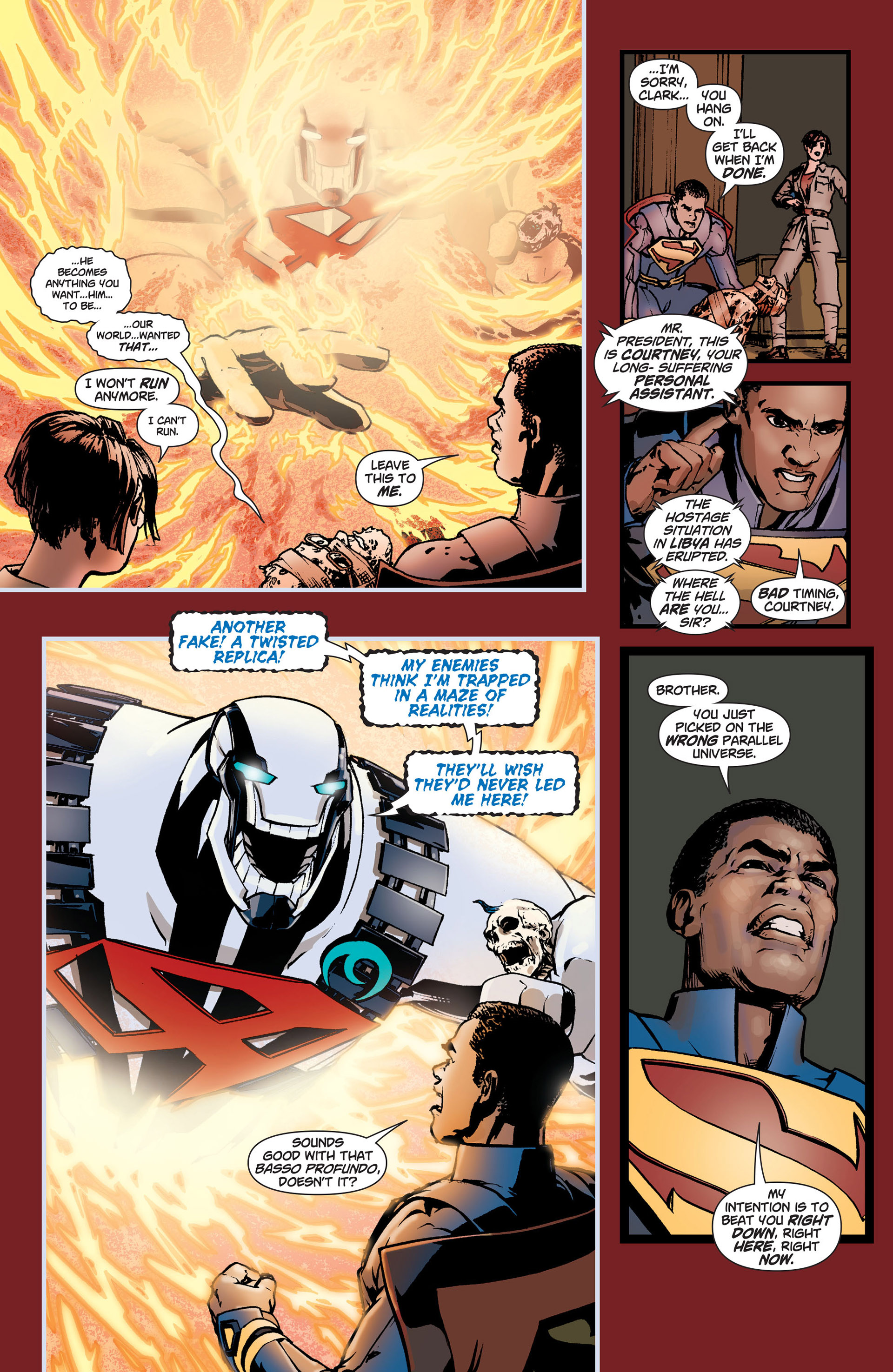 Read online Action Comics (2011) comic -  Issue #9 - 15