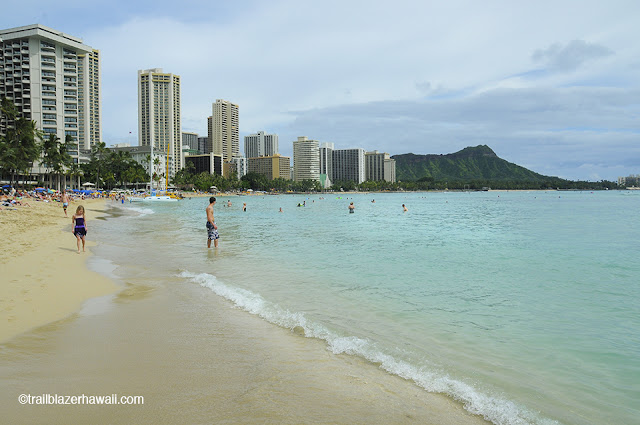 Waikiki waikikibeach hawaii Oahu trailblazerhawaii