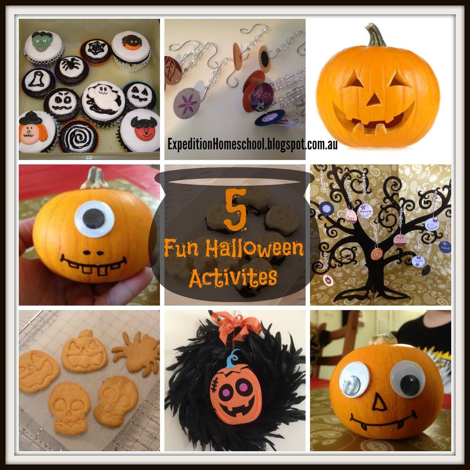Expedition Homeschool 5 Fun Halloween Activities