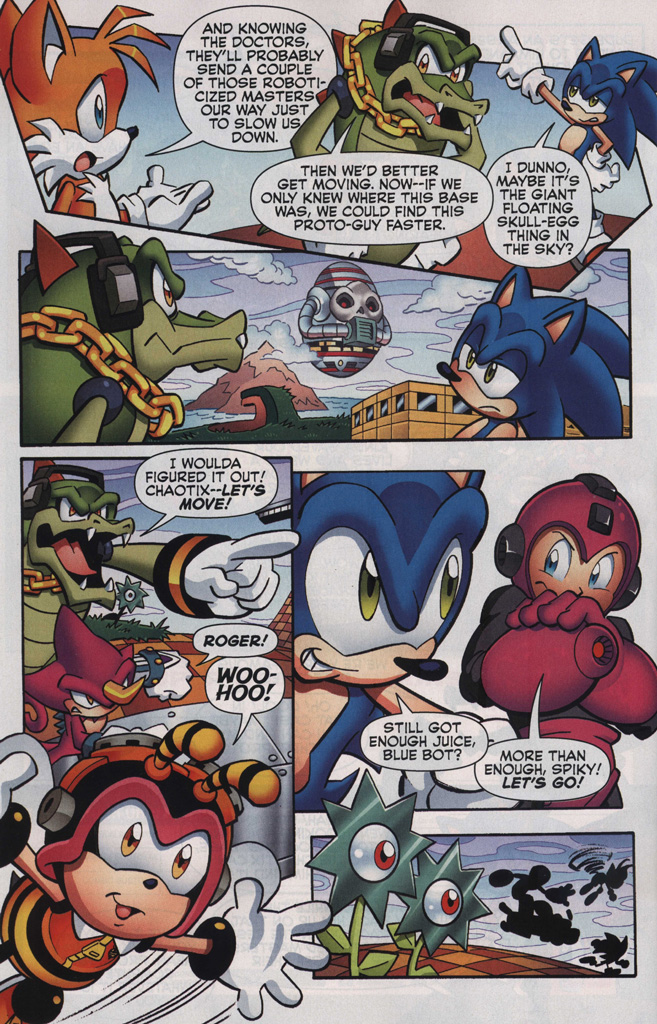 Read online Sonic The Hedgehog comic -  Issue #249 - 28