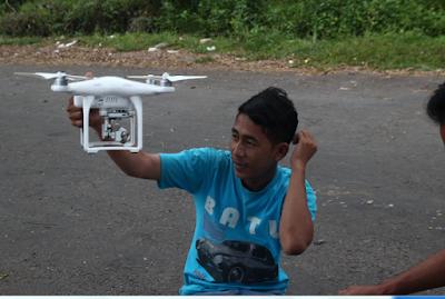 Cara Menerbangakan Drone Dagi Pemula