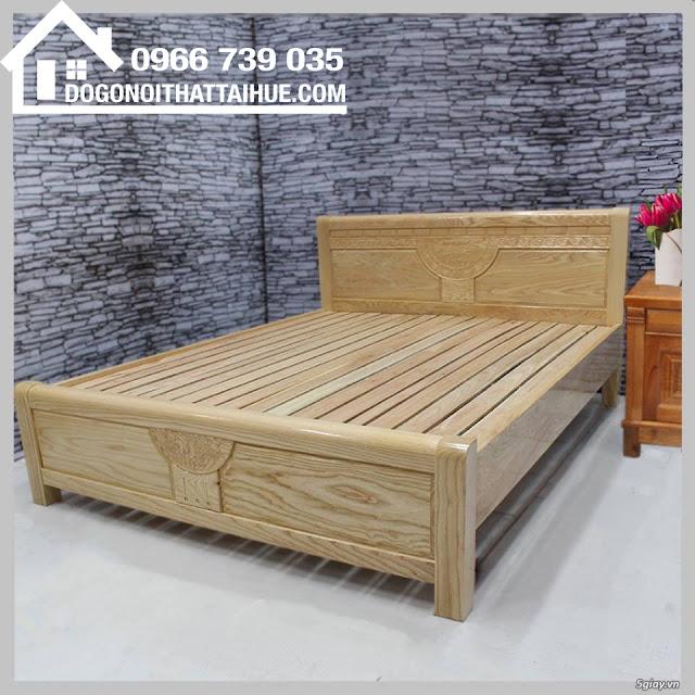 Mua giường ngủ gỗ sồi nga tại Huế, giường ngủ gỗ sồi tại Huế, Giuong ngu go soi tai Hue, Nội thất gỗ Huế
