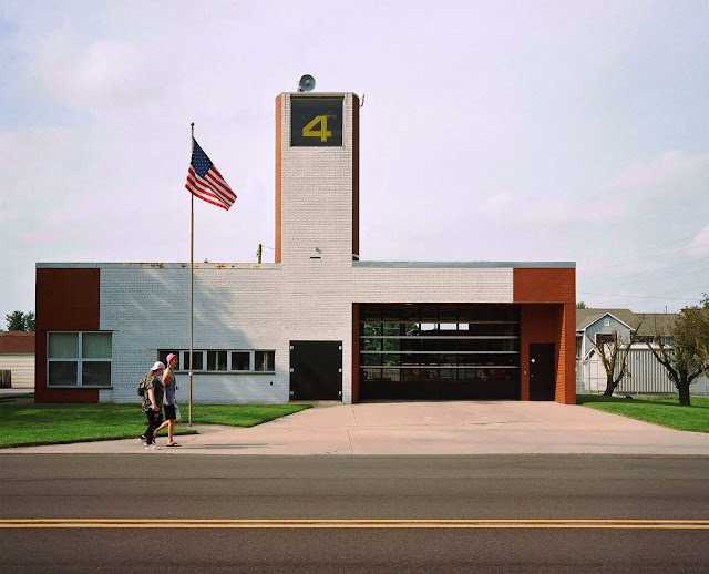 Fire Station #4, Columbus, Indiana, USA, 1968