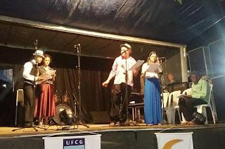 Grupo de Teatro da cidade de Sumé faz apresentação nesta sexta (02) em Cuité, no 8º Festival Universitário de Inverno