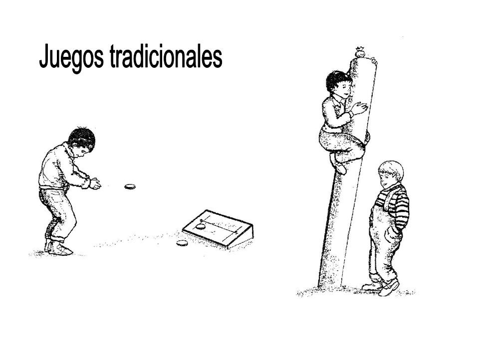 Láminas Para Colorear Juegos Tradicionales: Material Pedagógico Dixie Andaur: Juegos Tradicionales