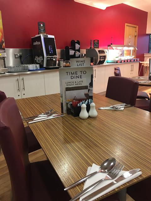 Fort Dunlop Travelodge restaurant