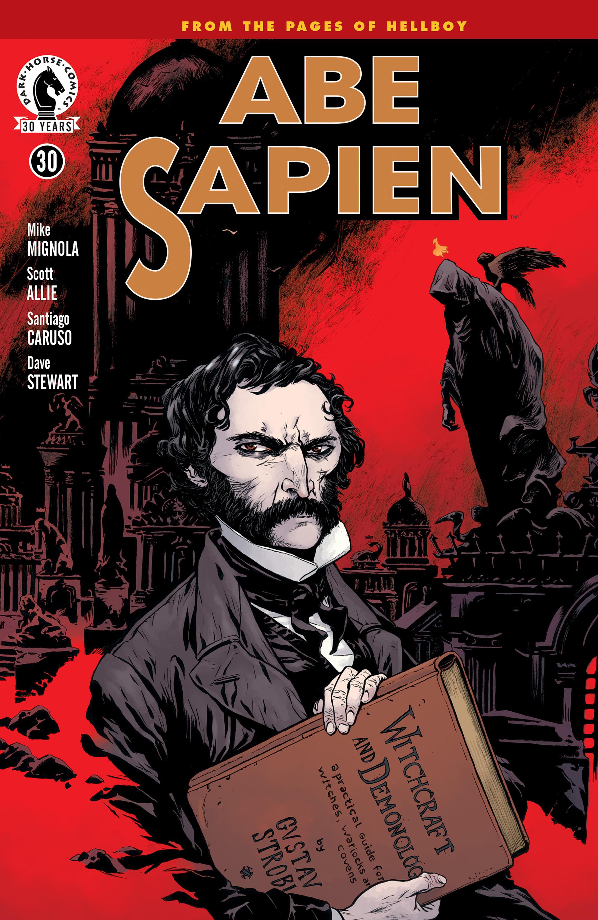 Read online Abe Sapien comic -  Issue #30 - 1
