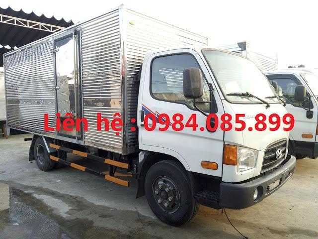 Giá xe tải Hyundai 110s thùng kín