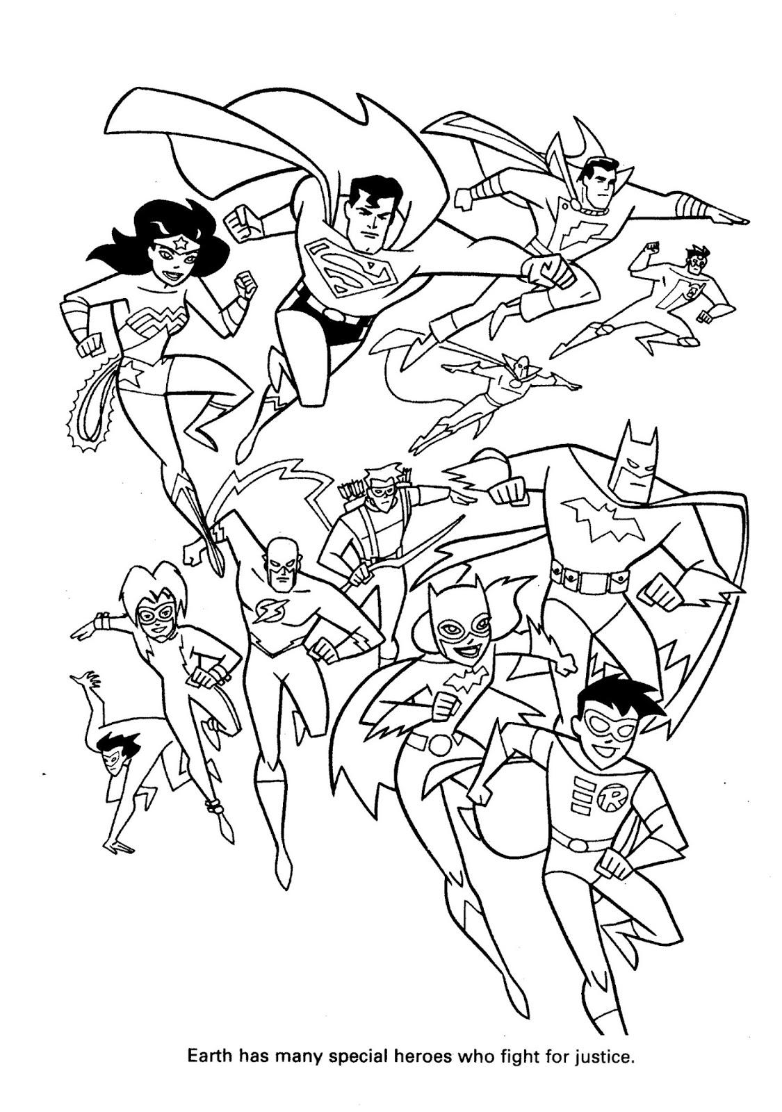 Bagi Bagi Ajah Dc Comics Super Heroes Super Villain