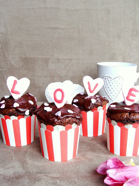 walentynkowe muffiny
