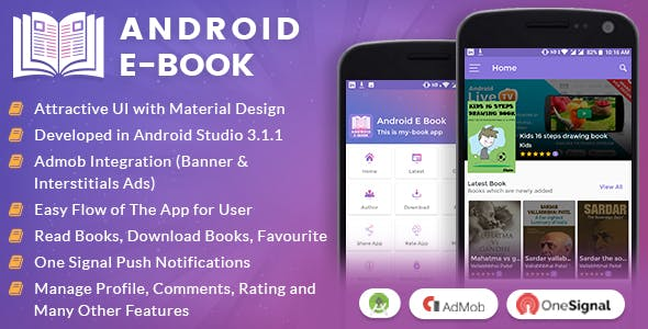 android e-book nulled, e-book source code, e-book app nulled