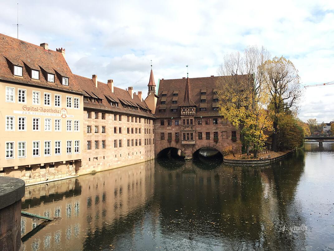 Vista desde el Museumsbrücke