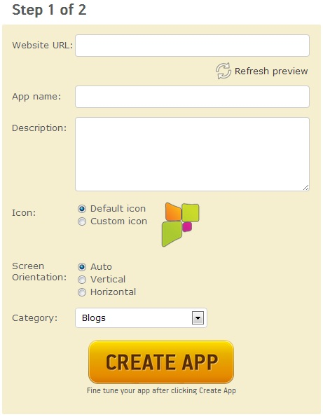 Create  apk Android Apps using AppsGeyser for Free