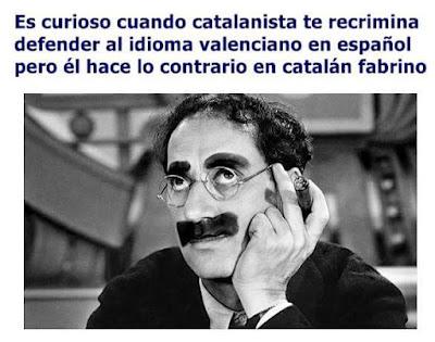 catalanista, castellano, catalán, Groucho Marx