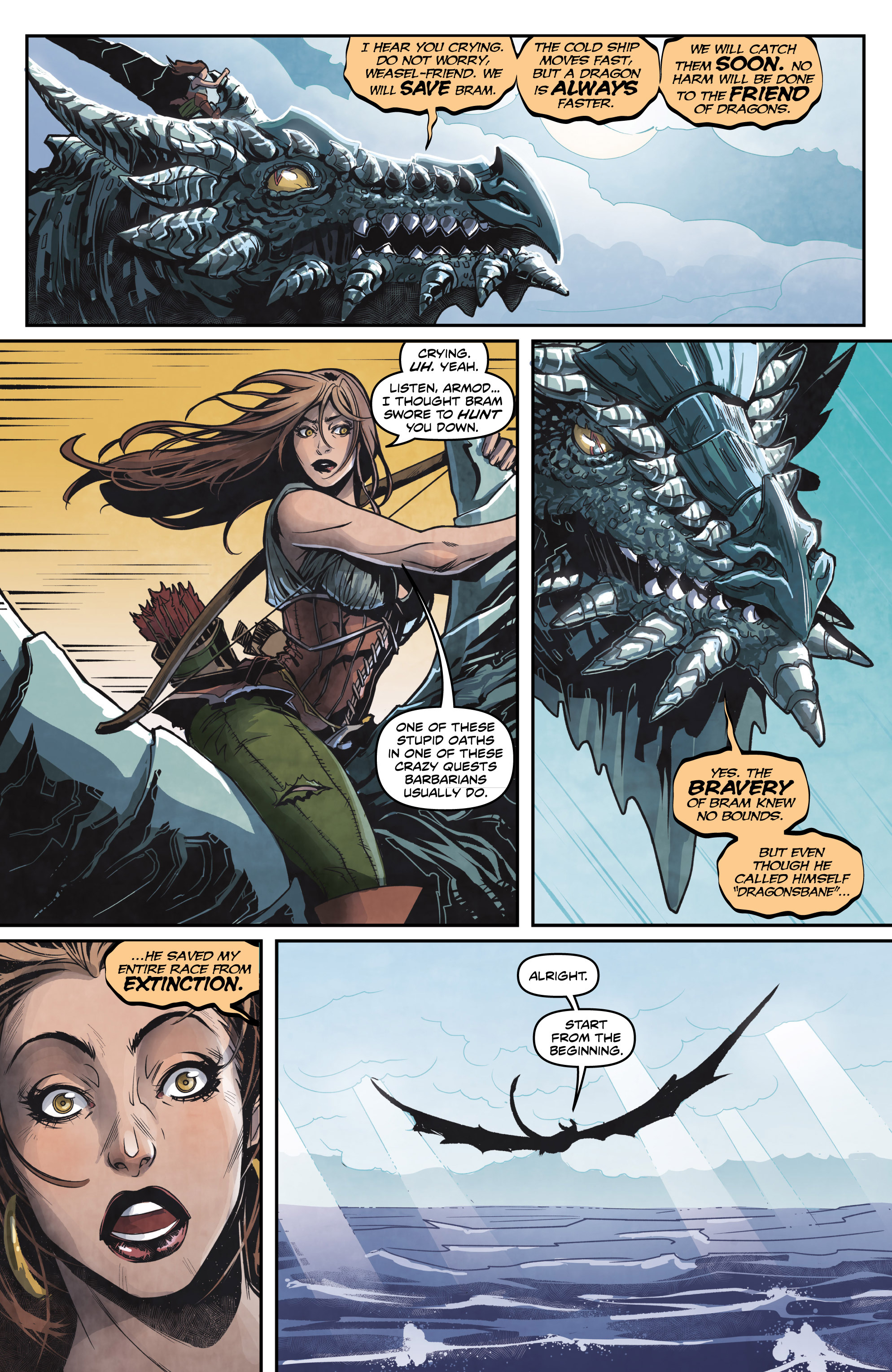 Read online Rogues! (2014) comic -  Issue #4 - 5
