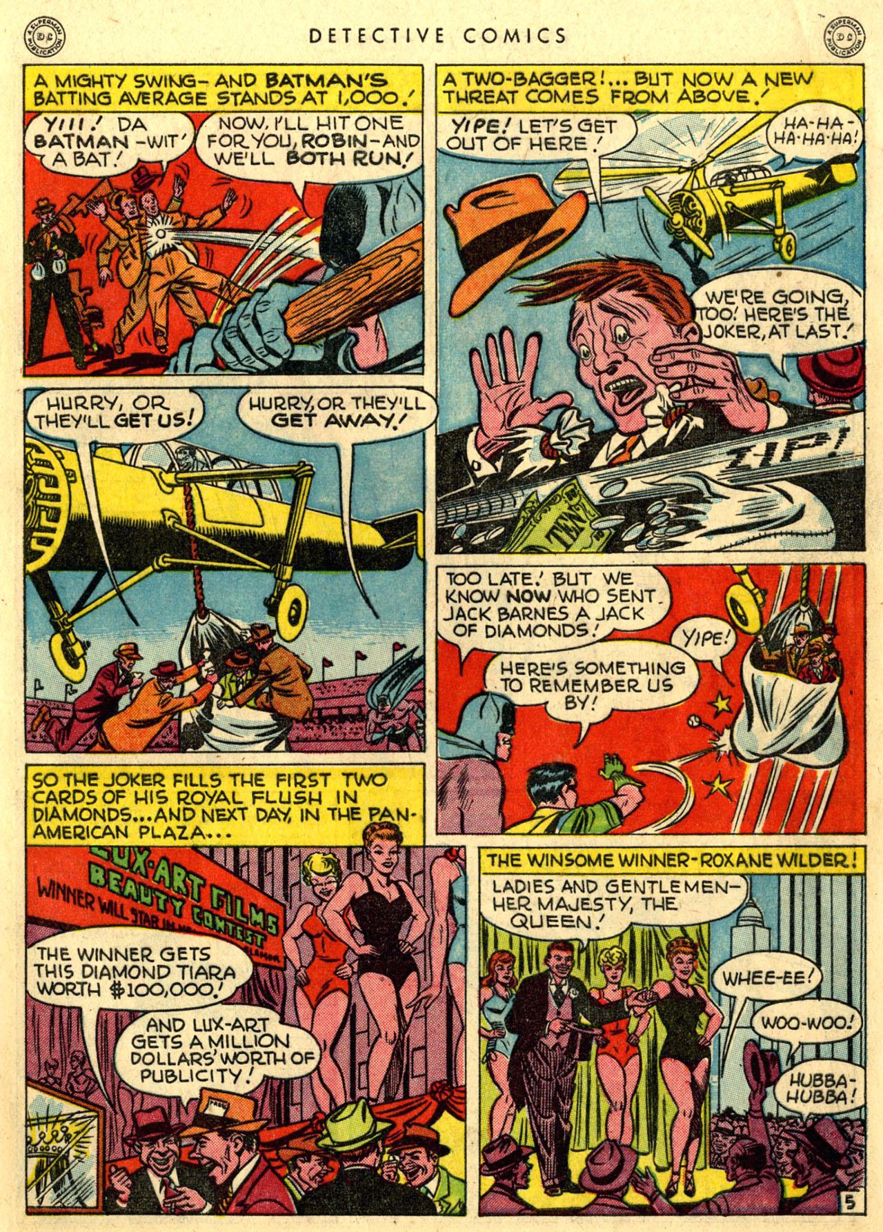 Read online Detective Comics (1937) comic -  Issue #118 - 7