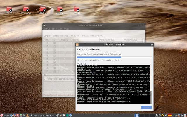 Qué fácil es el proceso de actualizaciones en Peppermint OS!