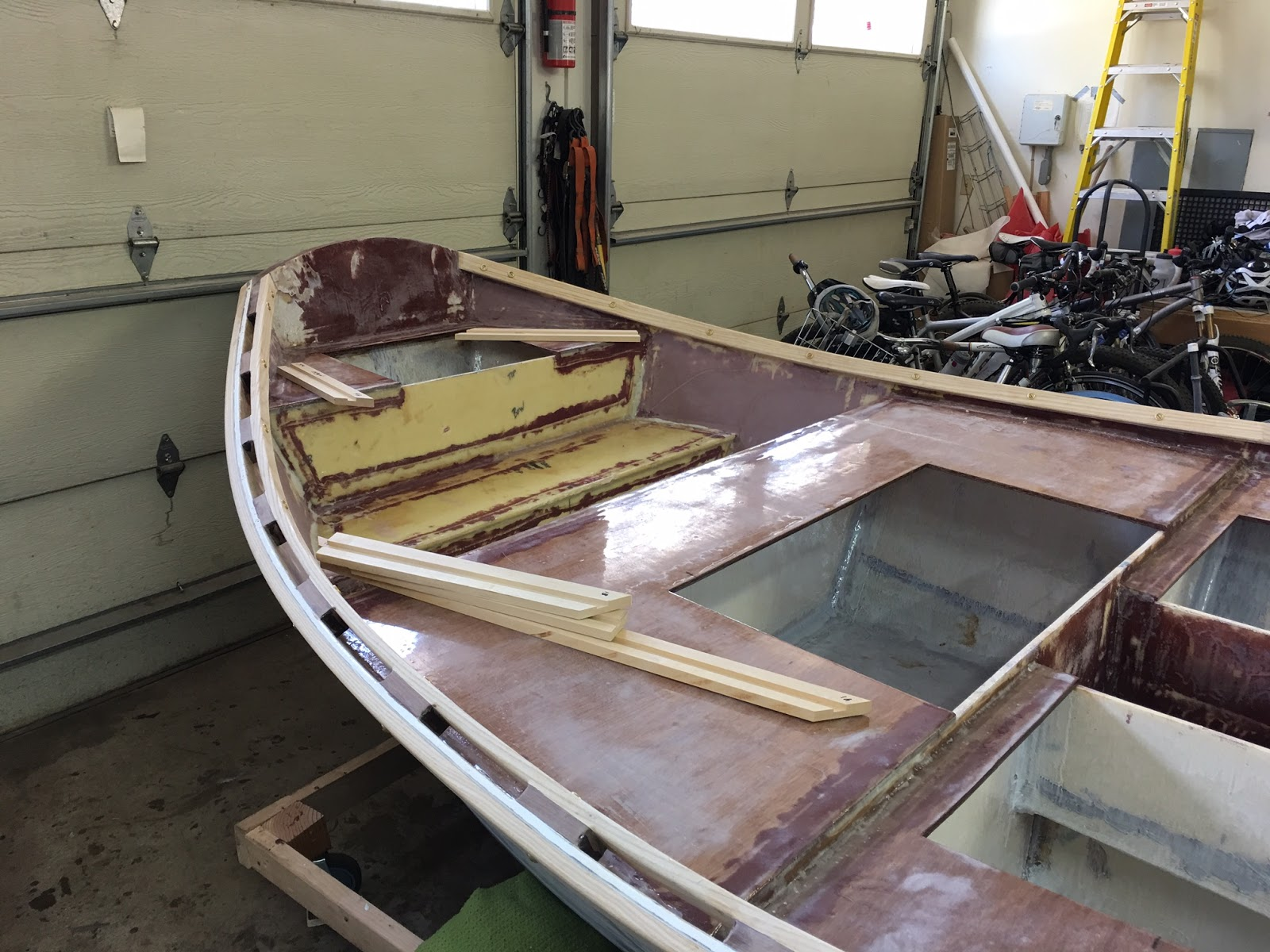Whitewater Dory: March 2016