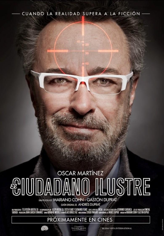 El ciudadano ilustre - película - cartel