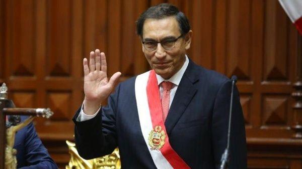 Puntos del primer discurso de Vizcarra como presidente de Perú