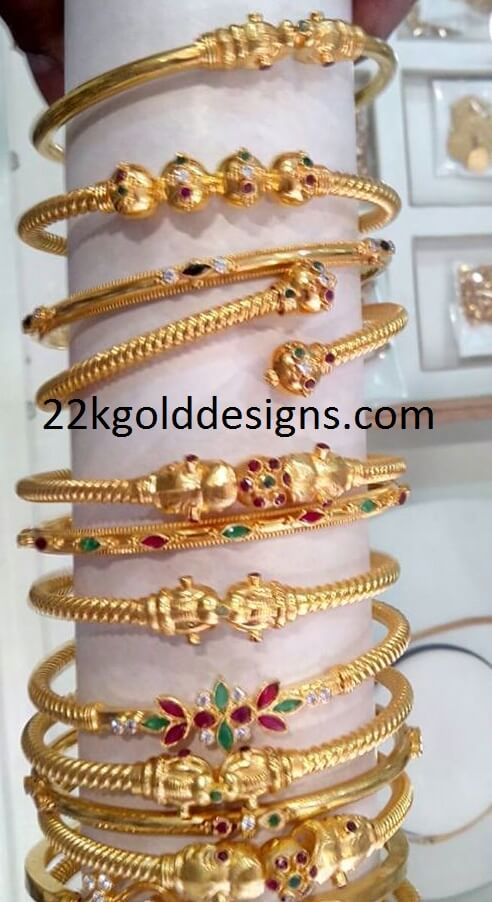 4 to 6 Grams Gold Bangles Gallery
