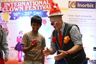 GRAND OPENING FOR INTERANTIONAL CLOWN FESTIVAL AT INORBIT MALL, WHITEFIELD
