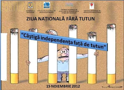 Ziua Nationala fara Tutun 15Nov