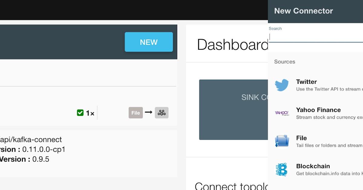 Kafka Connect: Setup Kafka Connect Cluster(Docker Landoop