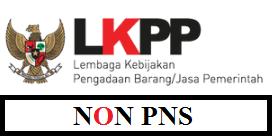 Rekrutmen Staf Non PNS LKPP Januari 2017