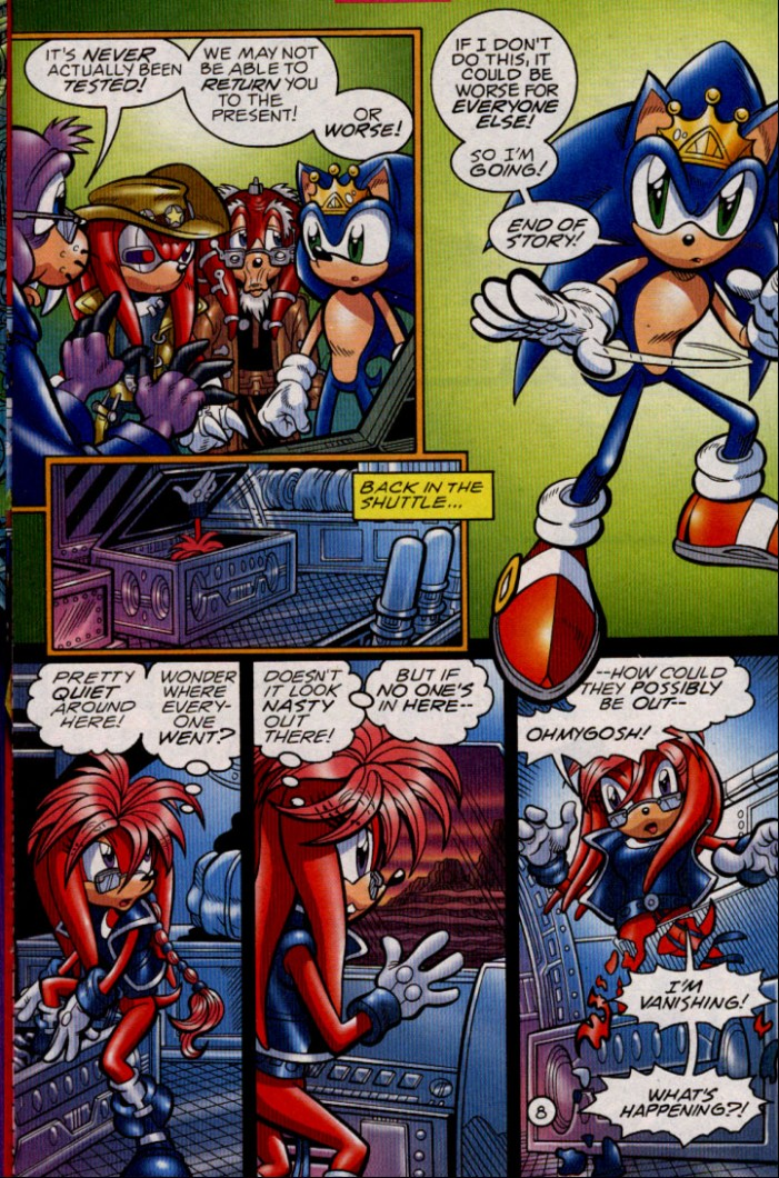 Read online Sonic The Hedgehog comic -  Issue #144 - 10
