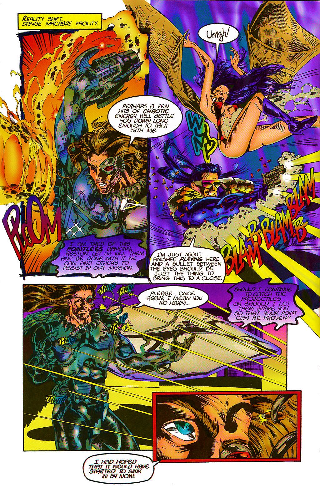 Read online Chains of Chaos comic -  Issue #2 - 10
