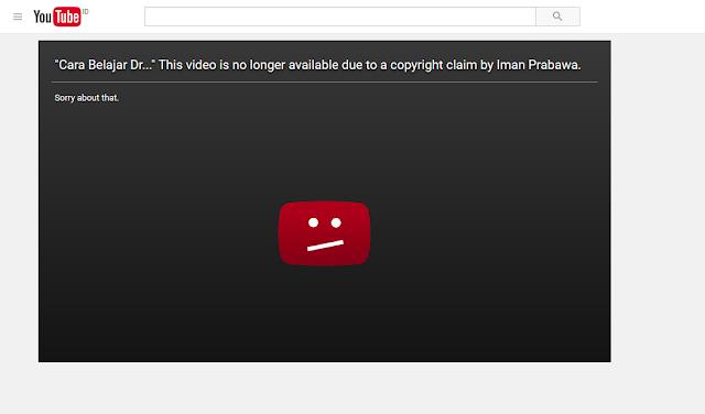 Cara Mengajukan Copyright Claim Ke Youtube