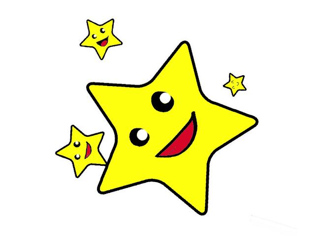 Gambar Mewarnai Bintang