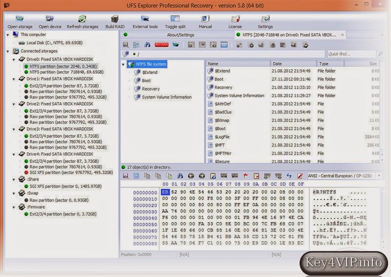 UFS Explorer Professional Recovery 5.15.3 Full,Phần mềm khôi phục dữ liệu mạnh mẽ