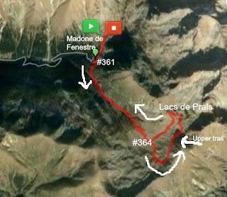 Lacs de Prals trail image
