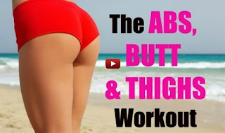 Best Exercises For Abs Butt & Thigh - Exercises To Tone Abs Legs and Thighs