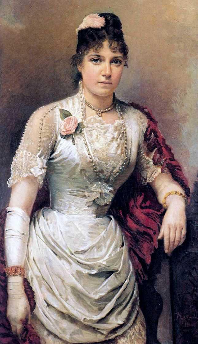Russian Artist Ivan Kramskoi (1837-1887)